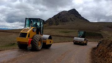 Carretera Huancarani - Catca