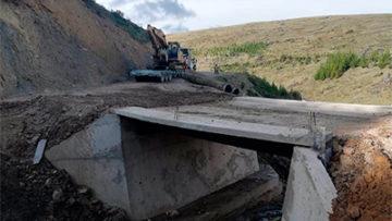 04 Pontones, Carretera Huancarani - Catca